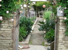 San Diego garden staging