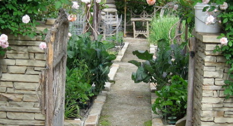 San Diego garden staging